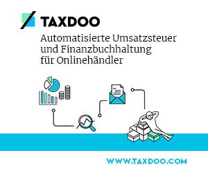 Taxdoo Banner Lösung